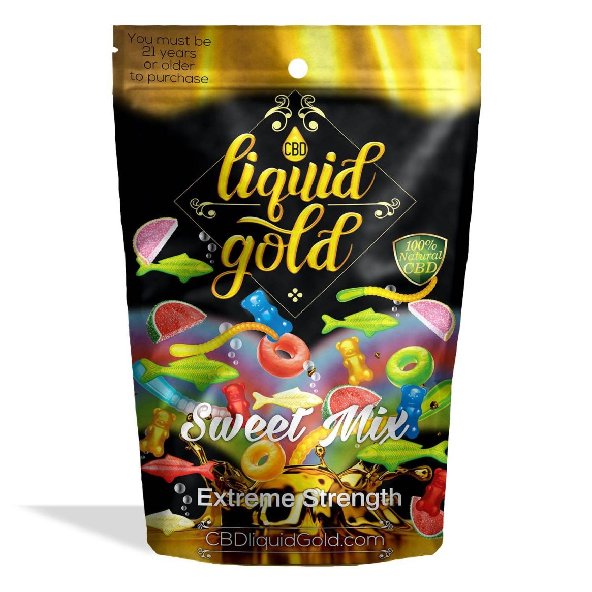 1245887954985 Liquid gold gummies sweet mix