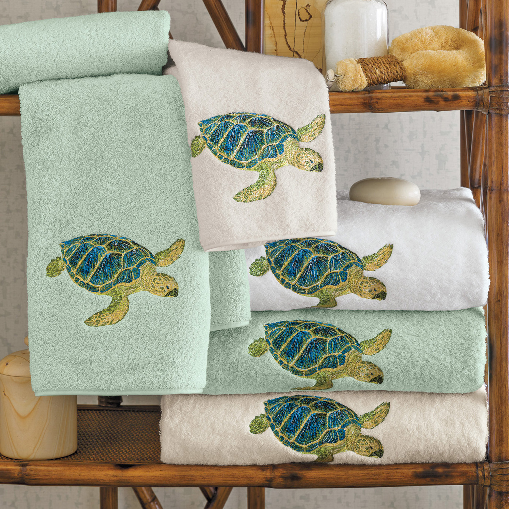 Sea Bathroom Set