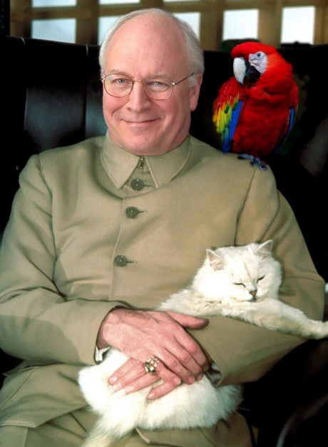 cheney and parrot