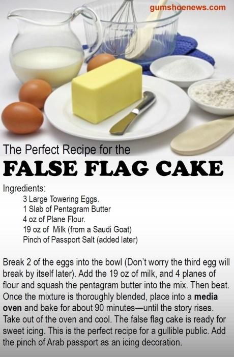 false flag cake2