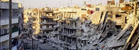 syria destroyed