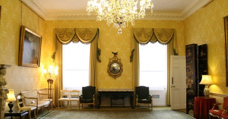 Music room at Admiralty House