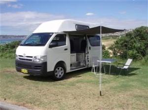 unser Campervan für Australien 2017