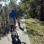 Radfahren im Kings Park