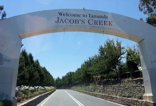 Jacobs Creek Winery in Tanunda im Barossa Valley