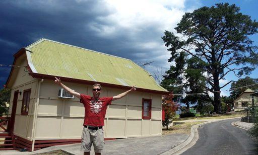 Hahndorf bei Adelaide Cabin mit Klimaanlage