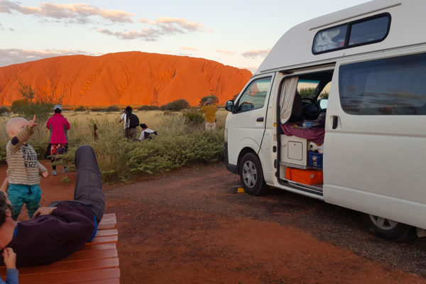 GumtreeFamily erfaehrt Australien im Campervan