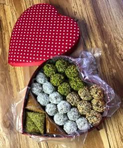 Özel Kalpli Pestil Paketi