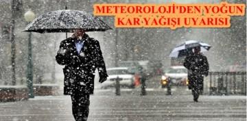 Meteoroloji Gümüşhane'yi Uyardı
