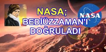 """NASA; BEDİÜZZAMAN'IN BAHSETTİĞİ """"7 DÜNYA""""YI  BULDU"""
