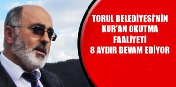 TORUL BELEDİYESİ'NDEN ÖRNEK PROJE