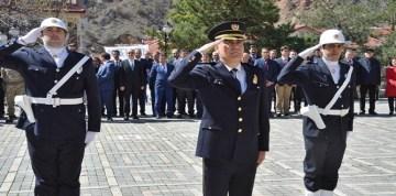 Türk Polis Teşkilatının 172. Kuruluş Yıldönümü Gümüşhane'de Törenle Kutlandı