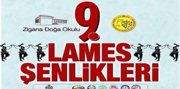 9.LAMES ŞENLİĞİ ZİGANA'DA YAPILACAK
