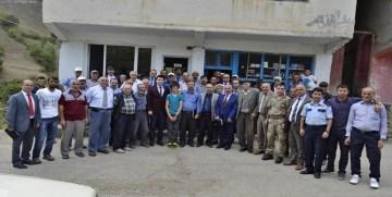 Torul'da 7. Halk Toplantısı Şehit Öğretmen Necmettin Yılmaz'ın Köyünde Yapıldı
