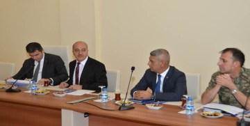Gümüşhane Üniversitesi'nde Güvenlik Toplantısı Yapıldı