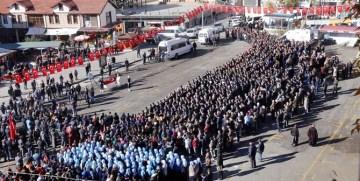 Şehit Polis Olgun Gülay Gümüşhane'den Dualarla Uğurlandı