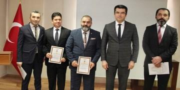 GÜMÜŞHANE'DE 81 EMNİYET MENSUBUNA ÜSTÜN BAŞARI BELGESİ VERİLDİ