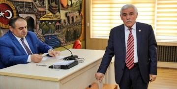 Gümüşhane İl Genel Meclisi'nde Seçimler Yapıldı