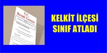 KELKİT İLÇESİ SINIF ATLADI