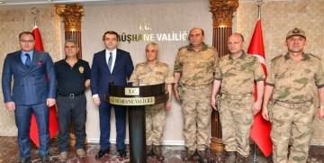 Jandarma Genel Komutanı Orgeneral Arif Çetin Gümüşhane'de