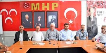 GÜMÜŞHANE'DE AK PARTİ'DEN MHP'YE VEFA VE TEŞEKKÜR ZİYARETİ