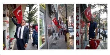 GTSO; GÜMÜŞHANE'Yİ TÜRK BAYRAĞI İLE DONATMAYA DEVAM EDİYOR