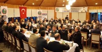 İSTANBUL'DAKİ GÜMÜŞHANELİLERDEN CUMHUR İTTİFAKINA DESTEK