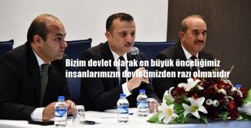 VALİ TAŞBİLEK KELKİT'TE MUHTARLARLA TOPLANTI YAPTI