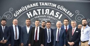 GÜMÜŞHANE TANITIM GÜNLERİ İSTANBUL YENİKAPI'DA DEVAM EDİYOR