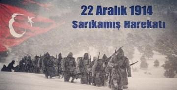 SARIKAMIŞ'TA BİR GÜMÜŞHANELİ ŞEHİT PİROĞLU AHMET