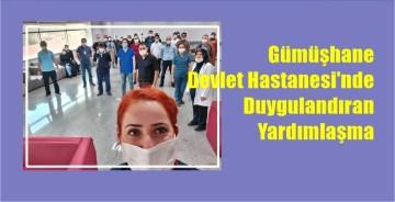 """""""SAĞLIKTA EKİP RUHU""""NDA GÜMÜŞHANE ÖRNEK OLDU"""