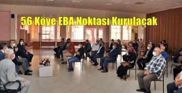 Gümüşhane'de 56 Köye EBA Destek Noktası Kurulacak