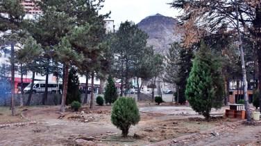 Gümüşhane'de Atatürk Parkı yenileniyor
