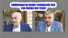 Milletvekilleri Akgül ve Pektaş'ın Bu Önerisi İle Gümüşhane Şaha Kalkar