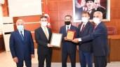 Gümüşhane'de Yılın Ahisi, Kalfası ve Çırağına Ödülleri Verildi