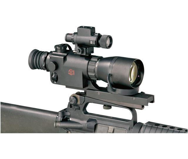 Atn 2 5x Night Vision Rifle Scope Matte Black 359 99