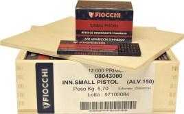 1,500 Fiocchi Small Pistol Primers (Standard Primer Mixture) (1,500 Primers) - $224.99 | gun.deals