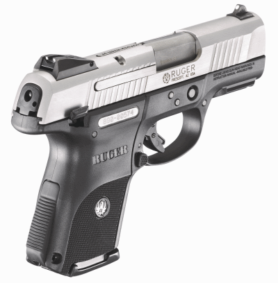 Ruger Sr9c 9mm Pistol In Stainless Steel Finish