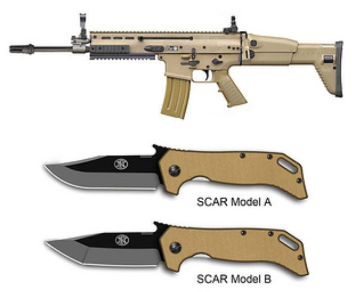 Emerson SCAR knife