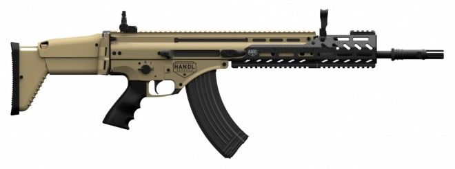 FN SCAR 17S with Handl SCAR47