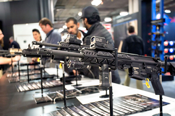 CAR816-A2 rifle with Fusion System Kit option unveiled at SHOT Show 2016
