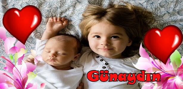 bebek resimli günaydın mesajı