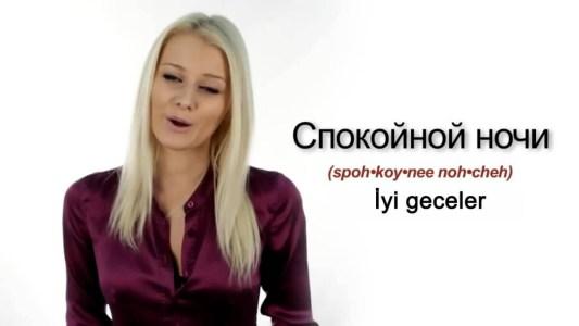rusca gunaydın mesajları videosu