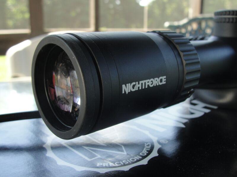 Gear Review NightForce SHV 4 14X56 Riflescope Gun