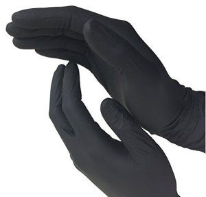 Disposable Black Nitrile