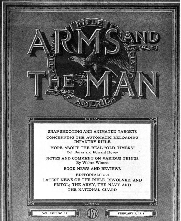 The A-Political NRA of Yore Strikes Again – 1918 Edition