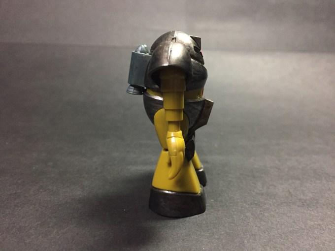 ガンプラコレクション gunpla collection 1/288 ゴッグ gogg MSM-03 側面 sideview