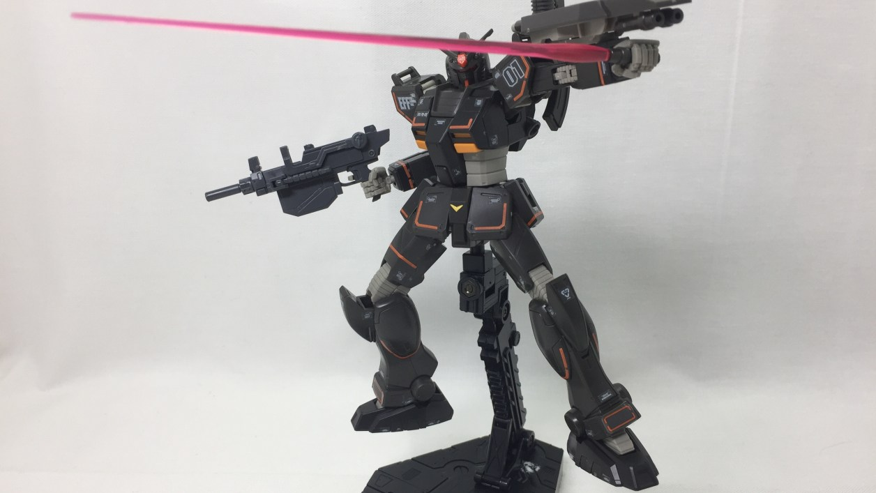 1/144 HG RX-79-2 局地戦ガンダム(北米戦仕様) GUNDAM LOCAL TYPE (NORTH AMERICAN TYPE)