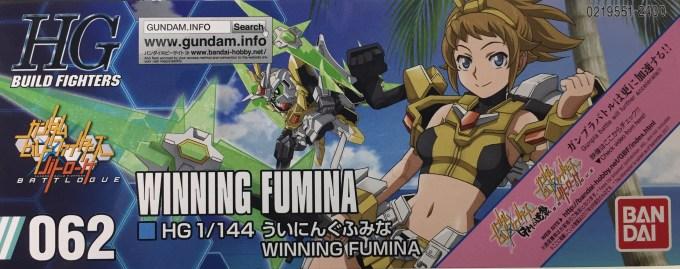 HGBF 062 1/144 ういにんぐふみな WINNING FUMINA