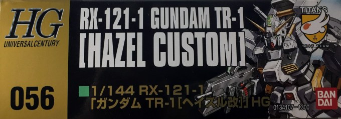 1/144 HGUC 056 RX-121-1 ガンダム TR-1 ヘイズル改 GUNDAM HAZEL CUSTOM